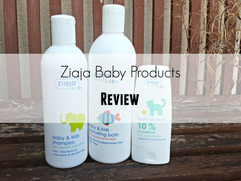 Ziaja Baby Skincare Giveaway Janine S Little World