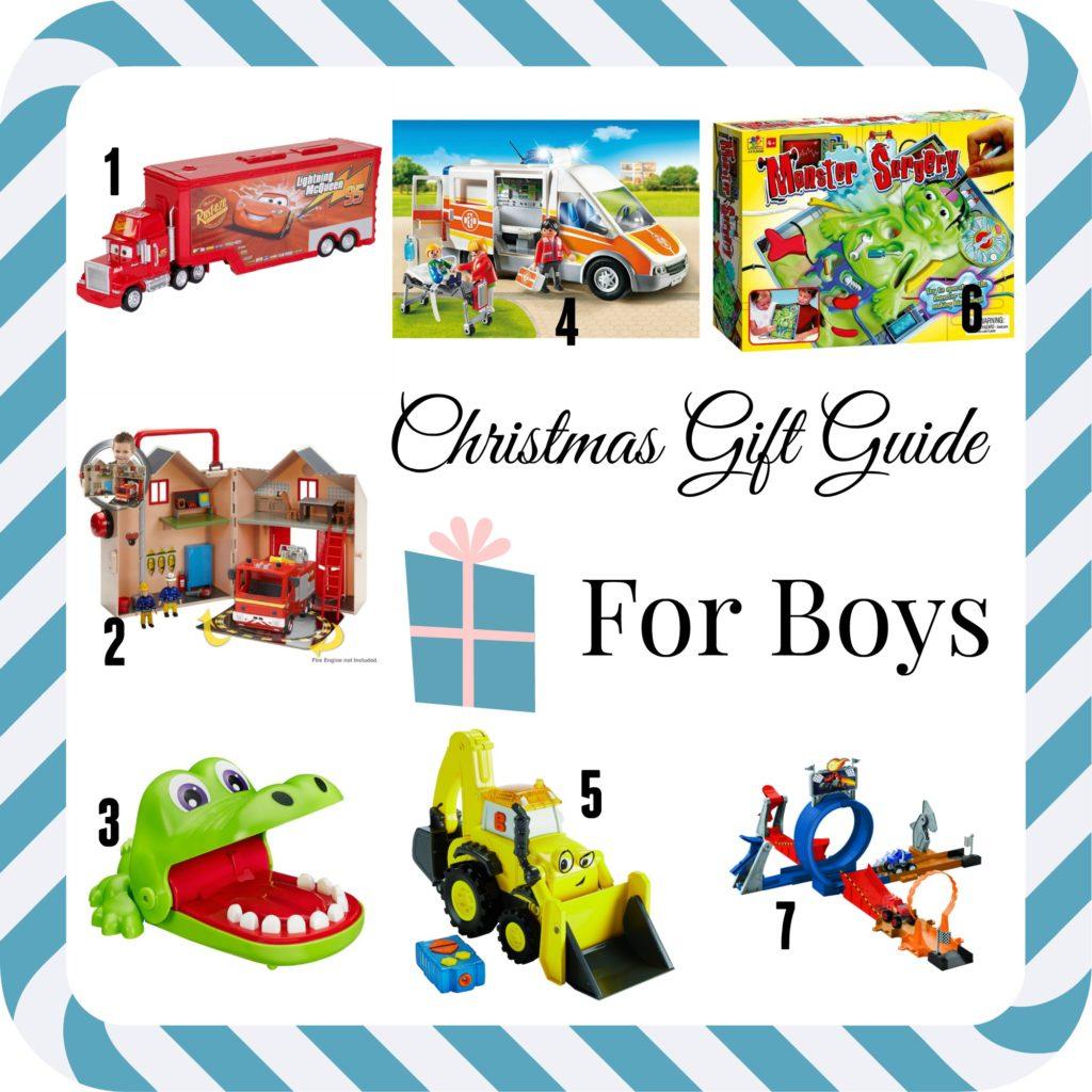 Christmas Gift Guide 2016 - For Boys | Janine's Little World