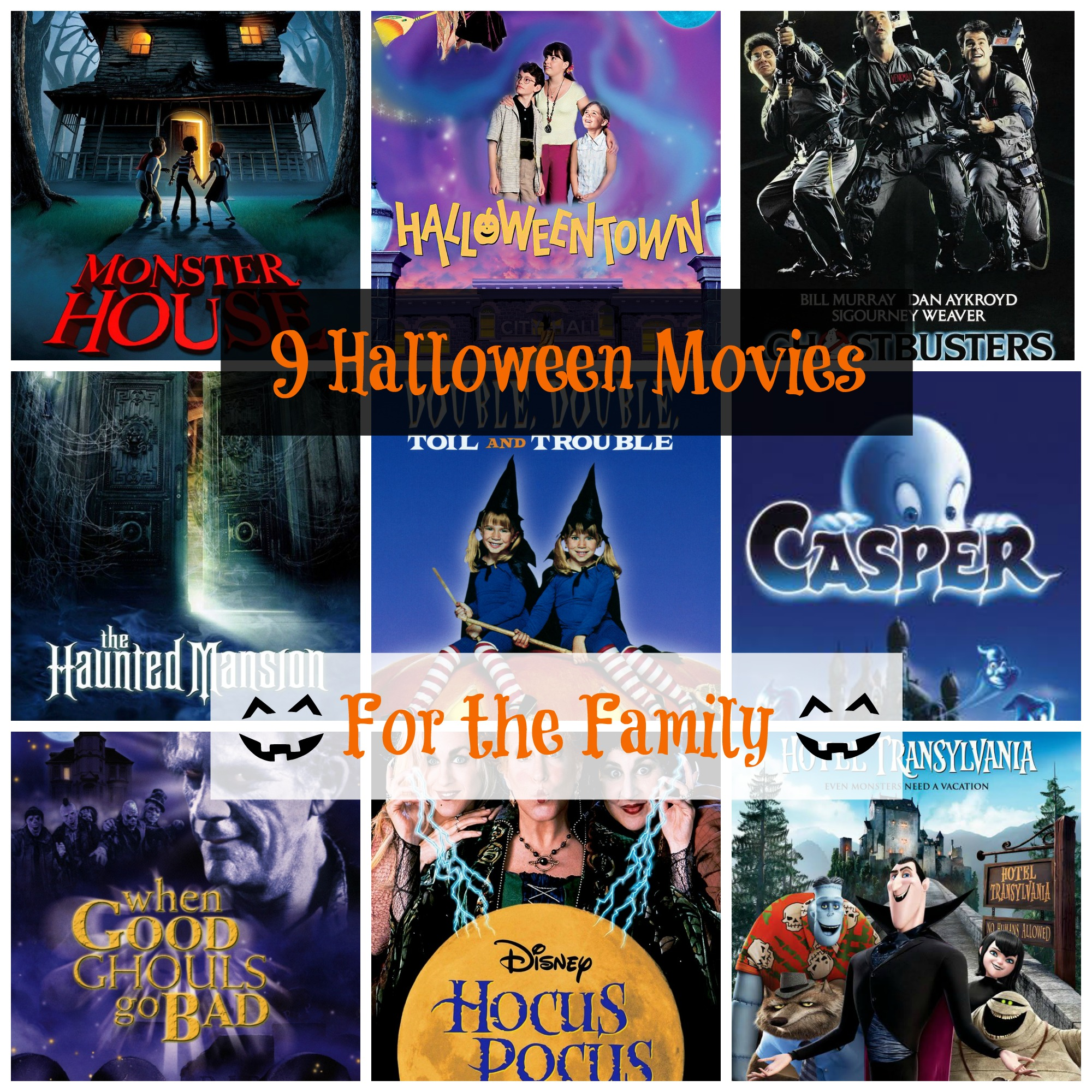 9 Family Movies we are watching This Halloween | Janine's Little World